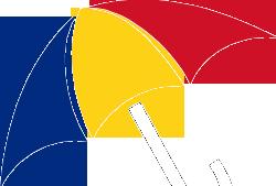 Umbrela tricolor