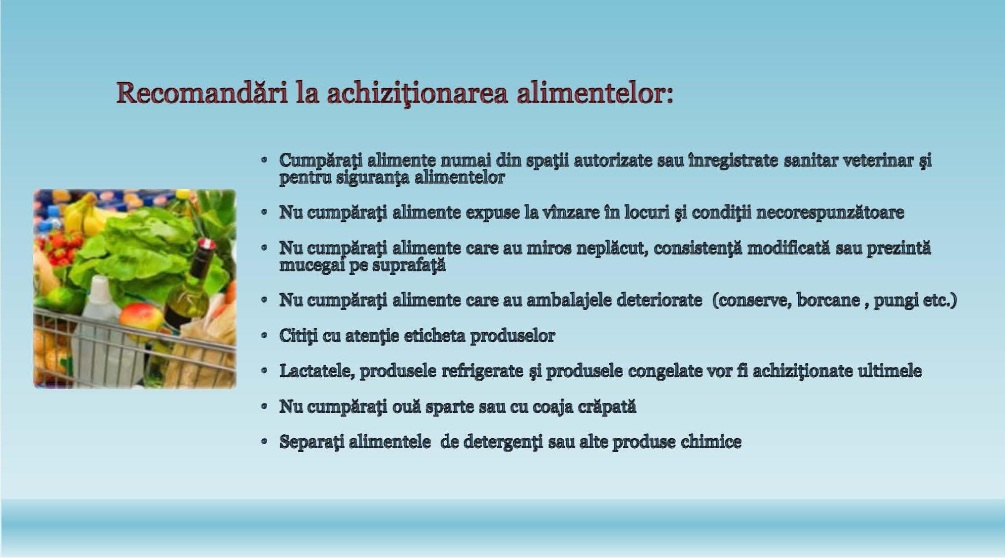 Recomandari evitare aparitie toxiinfectii (2)
