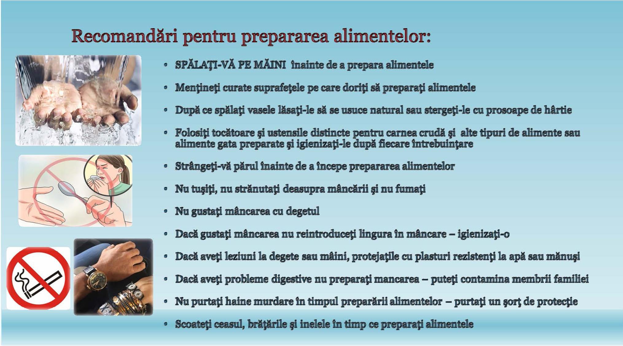 Recomandari evitare aparitie toxiinfectii (5)